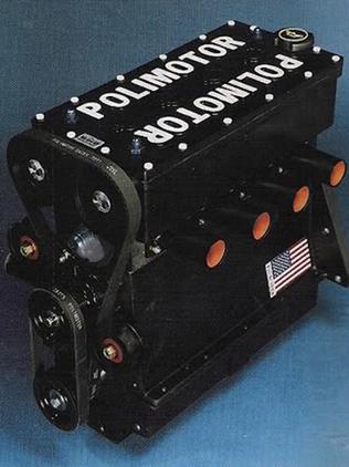Polimotor 2.  волоконно-полимерный композитный двигатель внутреннего сгорания